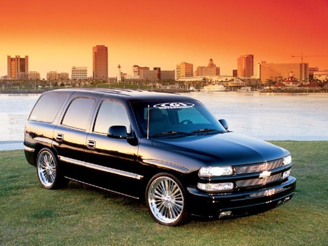 2003 Chevy Tahoe colorado Custom Billet Wheels