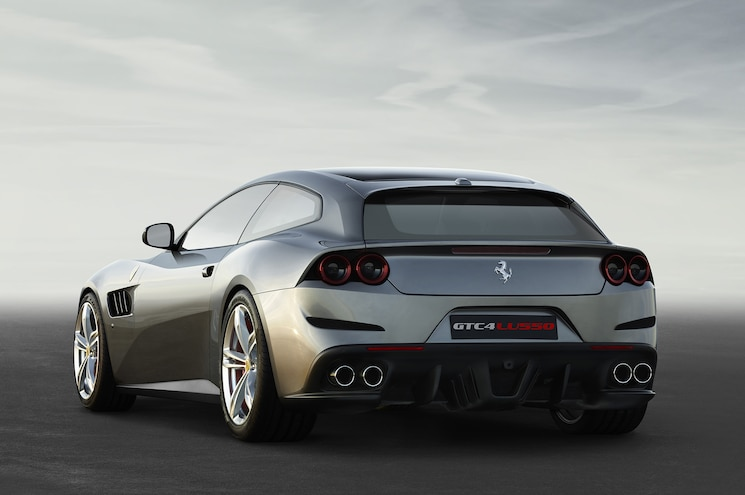 2017 Ferrari GTC4Lusso Rear Three Quarter