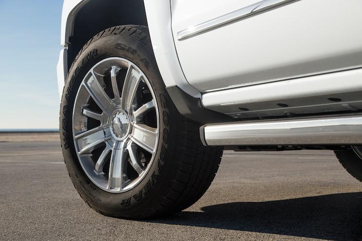 97 2016 Chevrolet Silverado High Country Wheel