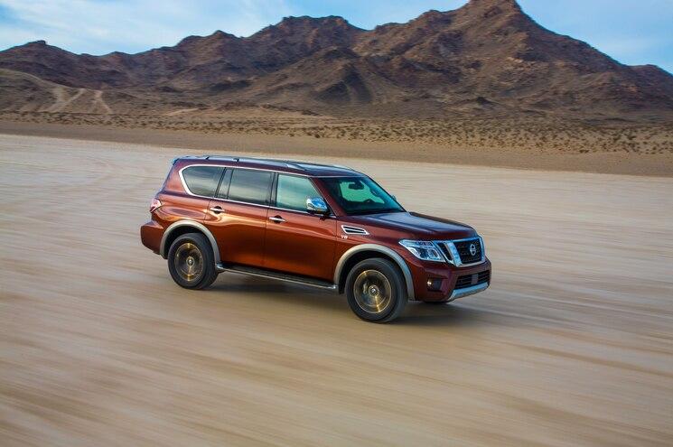 Nissan Announces Pricing of 2017 Pathfinder, Armada
