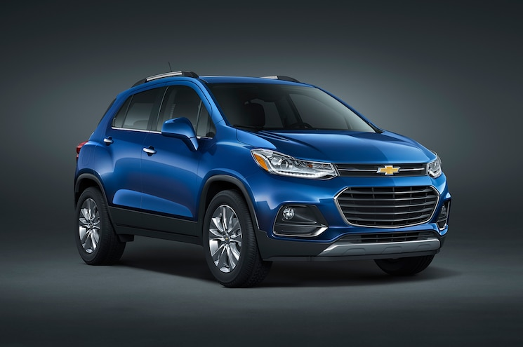 2017 Chevrolet Trax Gets Nip and Tuck