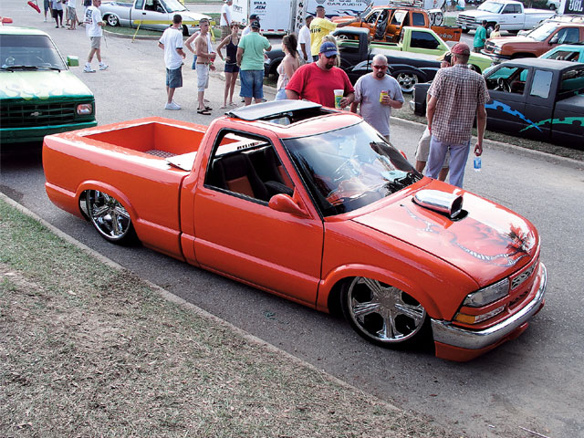 scrapin The Coast 2005 custom Truck