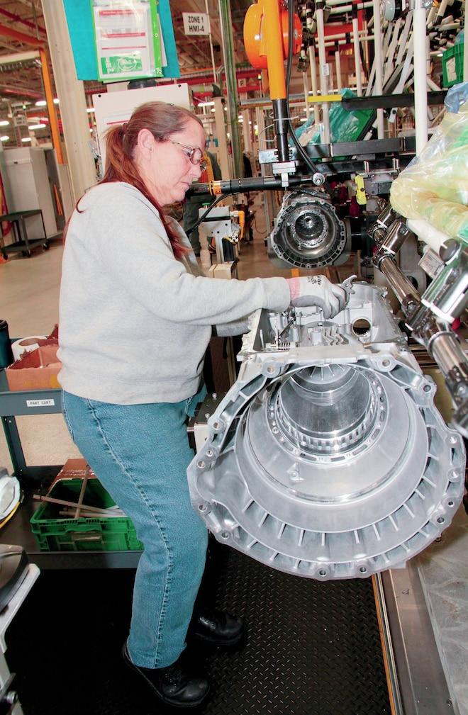 Chrysler 8 Speed Transmission