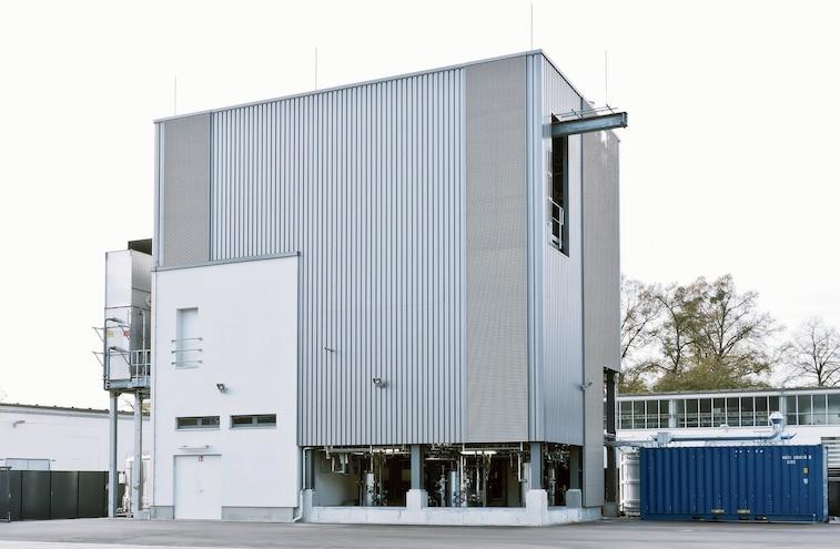Audi E Diesel Production Plant