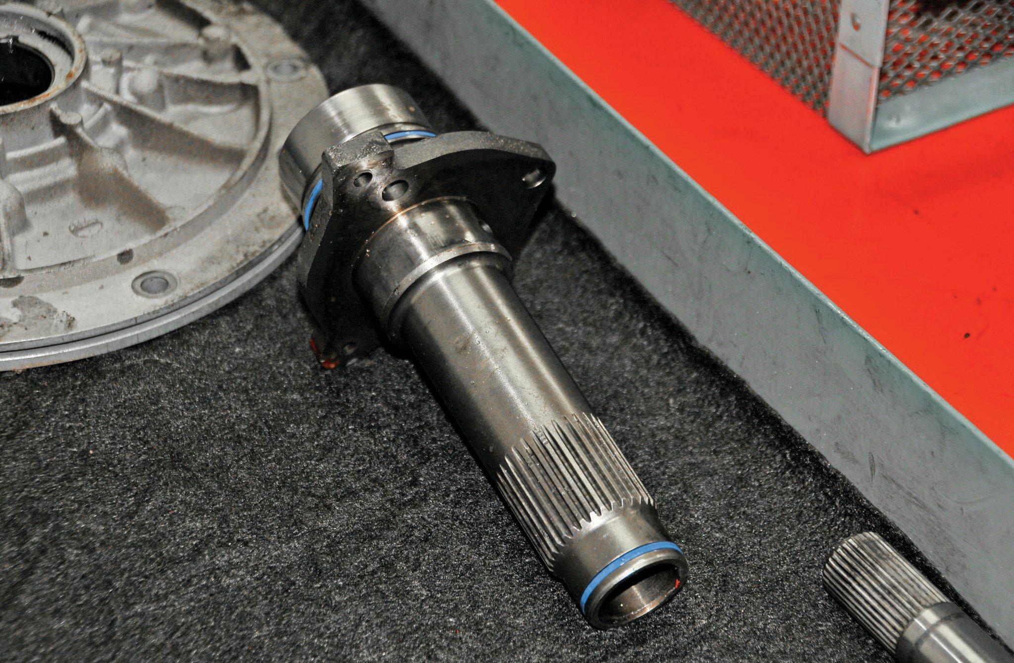 DieselSite E4OD Transmission Upgrade & Install - Shift Change Photo