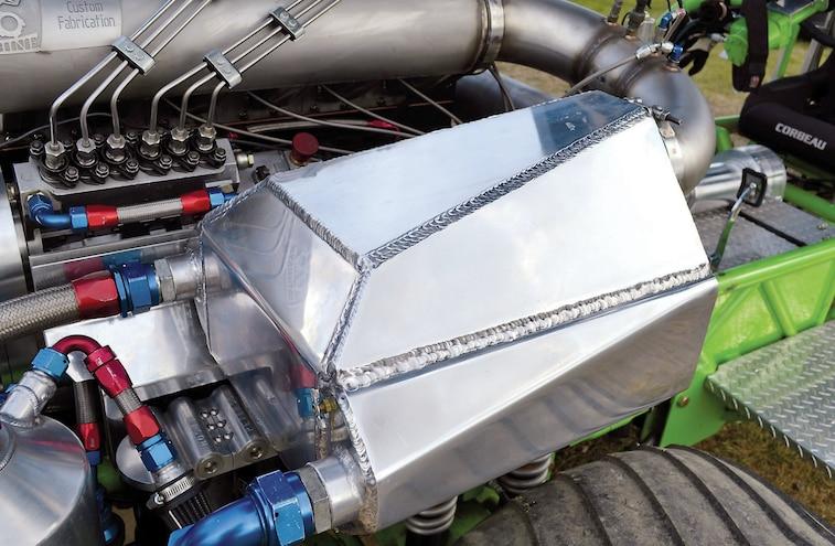 Water To Air Intercooler