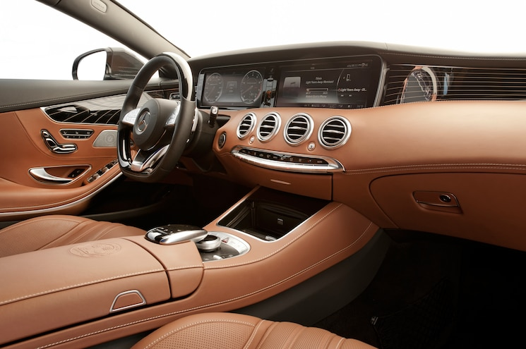 2015 Mercedes Benz S65 AMG Coupe Interior View