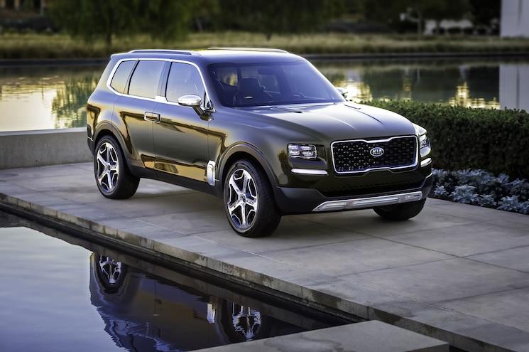 Kia Announces Production of Three Row Telluride SUV