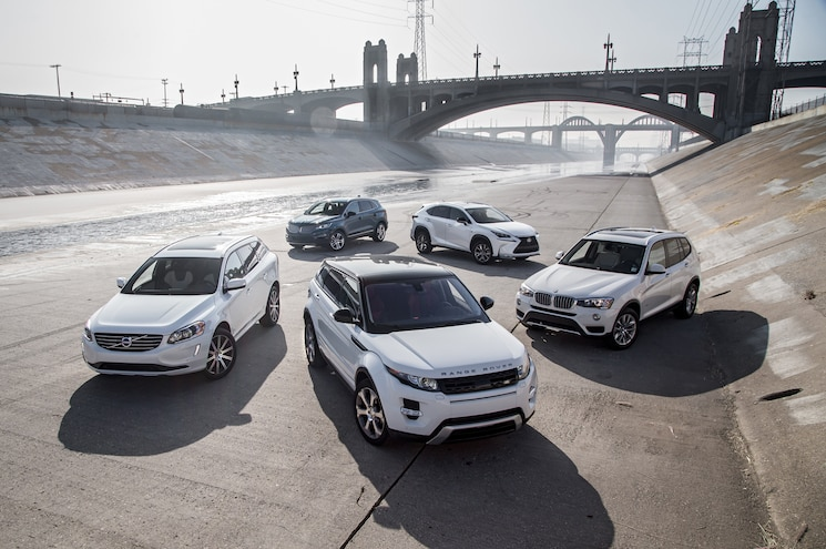 The Big Test: Luxury Crossovers - BMW, Range Rover, Lexus, Lincoln, Volvo