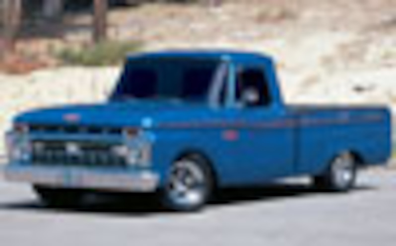 1966 Ford F100 Custom Truck S Truckin Magazine