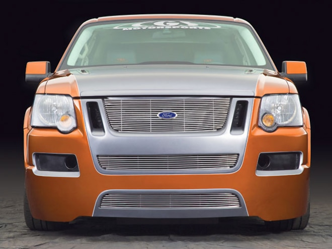 ford Explorer Sport Trac Project Truck front View