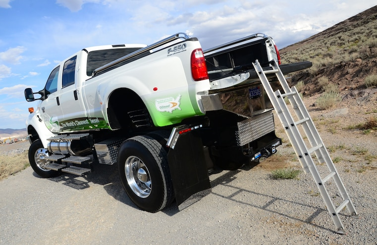 Which Alternative Fuel Should You Use in Your Work Truck?
