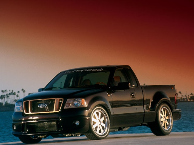 2004 Ford F150 side View