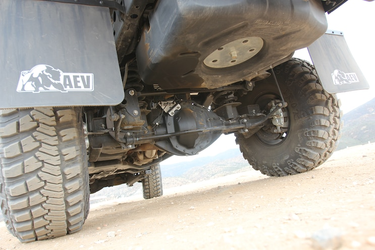 018 2015 AEV Prospector Dodge Ram 2500 Diesel Rear Axle And Suspension
