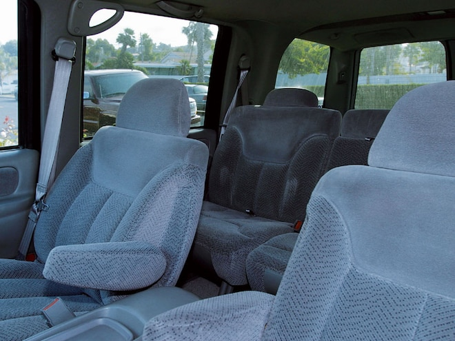 1997 Chevy Tahoe old Interior