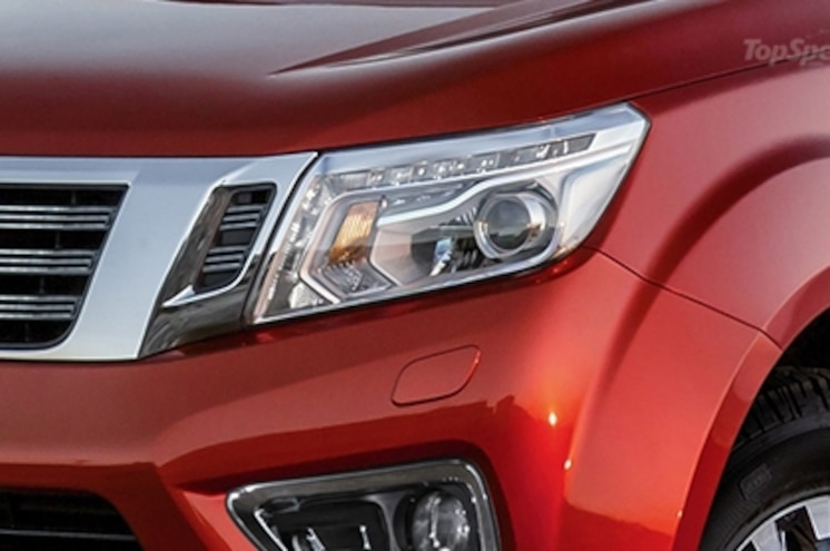 2018 Nissan Frontier Render Headlight
