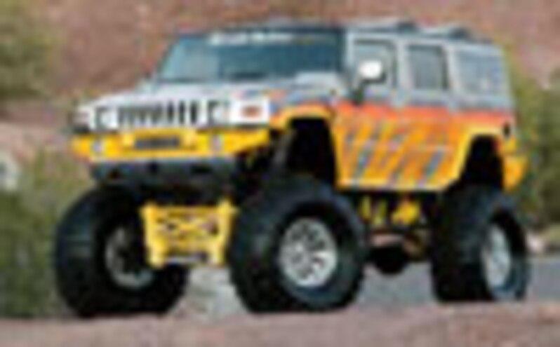 2003 Hummer H2 - Aim'n High - Truckin' Cover Feature