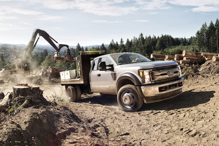 2017 Ford F 450 Chassis Cab Flatbed