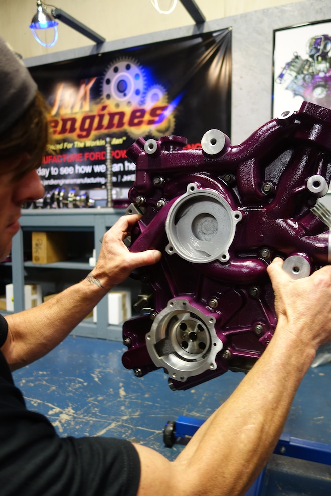 024 Jk Engines Stroker Engine Build Front Cover Install