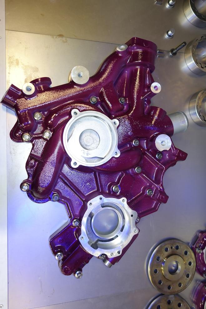 022 Jk Engines Stroker Engine Build Front Cover