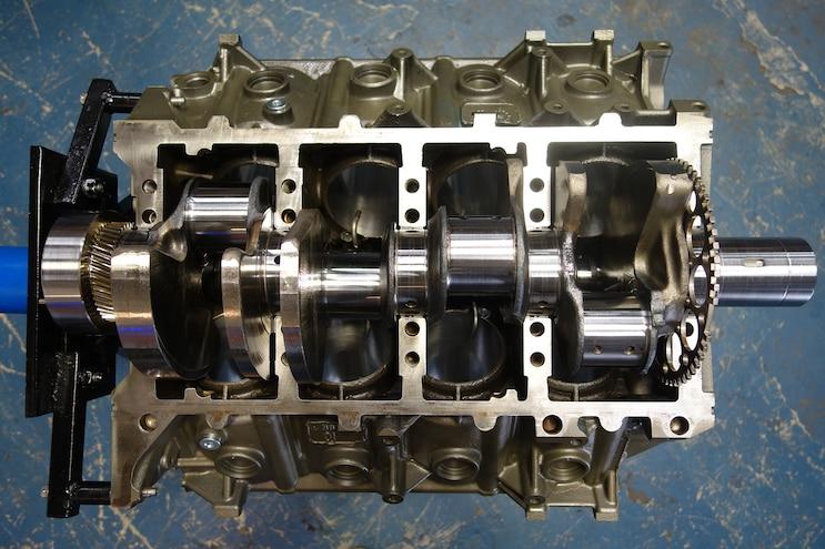 011 Jk Engines Stroker Engine Build Crank Installed