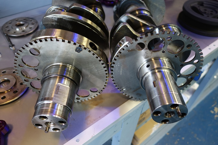 005 Jk Engines Stroker Engine Build Crank Snout Comparison