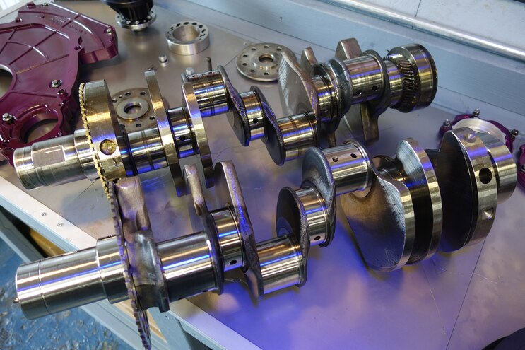 004 Jk Engines Stroker Engine Build Crank Comparison