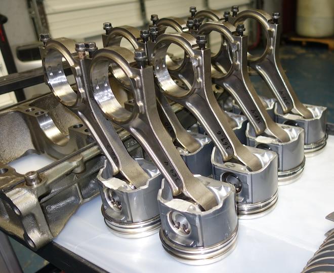 003 Jk Engines Stroker Engine Build Pistons Rods