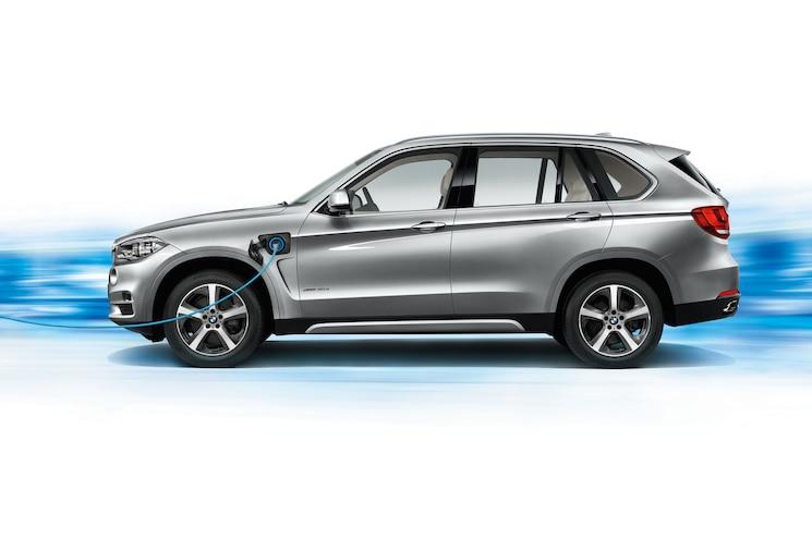 BMW X5 XDrive40e Side Profile