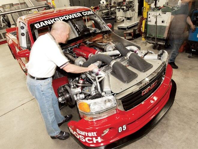 GMC Duramax Diesel Racer - Diesel Power Magazine