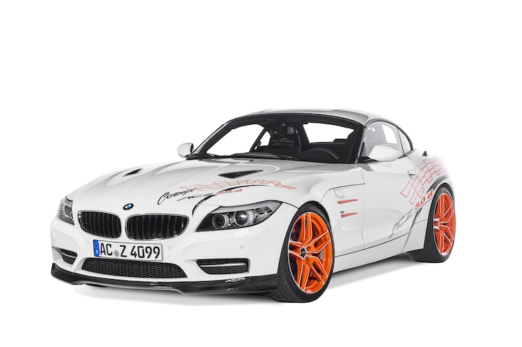 AC Schnitzer Turns BMW Z4 Into Fire-Breathing Diesel Track Monster