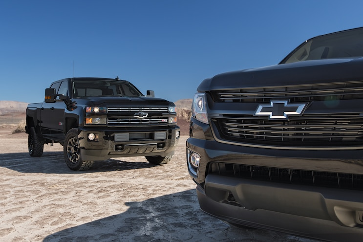 First Drive: 2016 Chevrolet Colorado & Silverado Midnight Edition