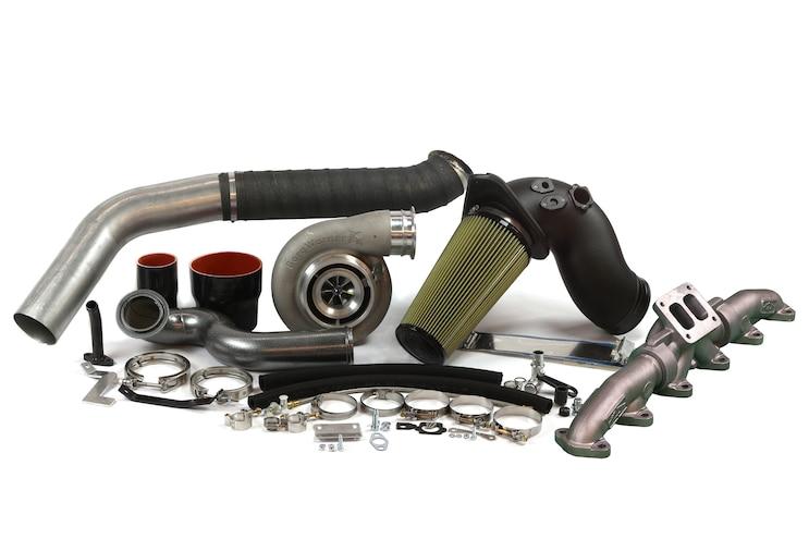 019 Industrial Injection Cummins 6 7L Diesel BorgWarner S467 Turbo And Manifold Kit