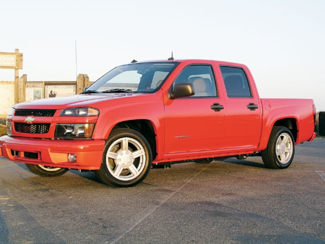 2004 Chevrolet Colorado side View