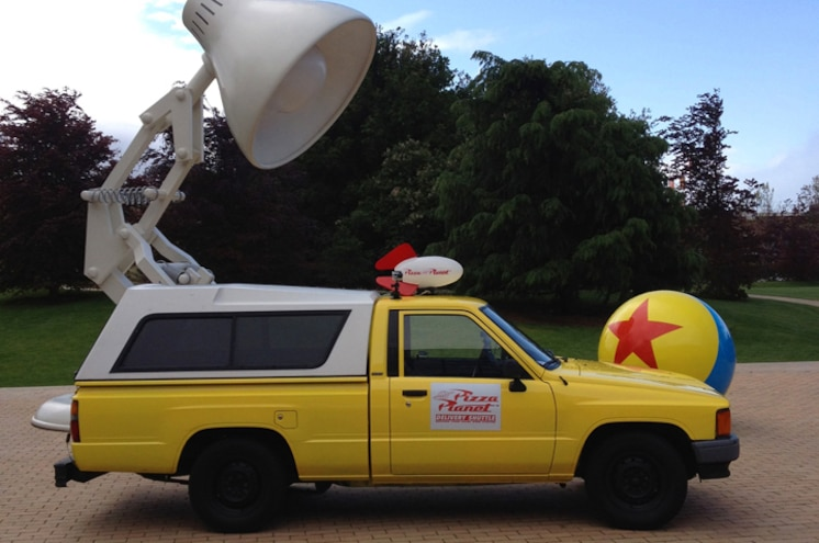 VIDEO: 1988 Toyota Pizza Planet Truck Makes Journey to Pixar Studios