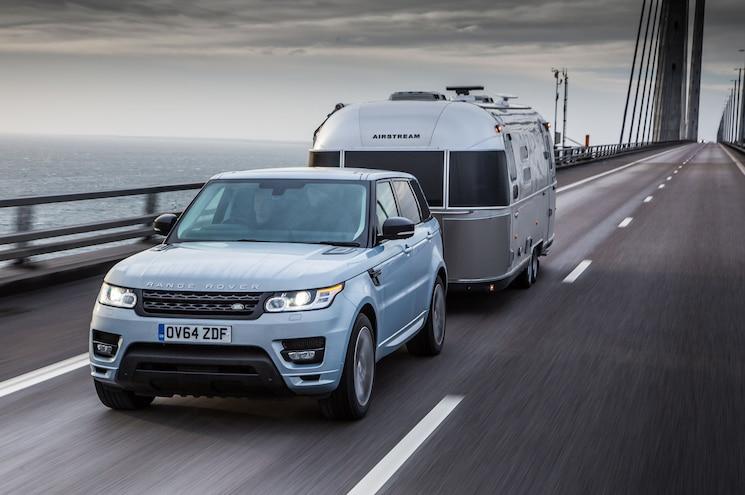 2015 Land Rover Range Rover Sport Hybrid Airstream Front Quarter Bridge