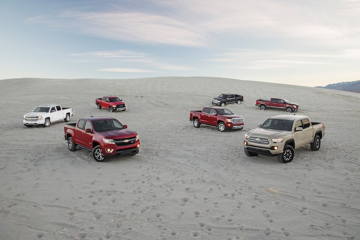 21 Pickup Truck Of The Year Group In Sand