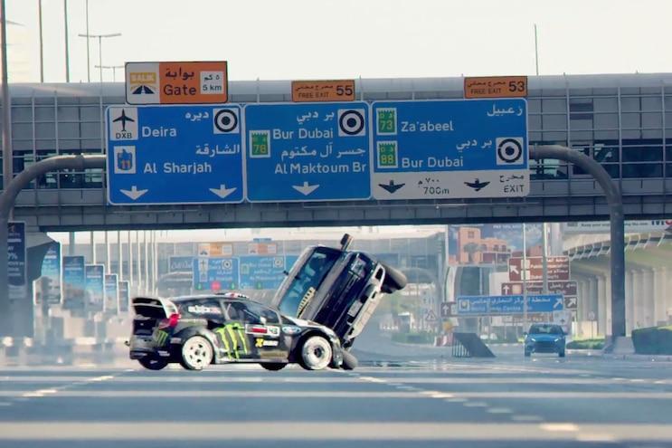 Ken Block Does it Again in Gymkhana EIGHT, Wreaking Havoc Throughout Dubai