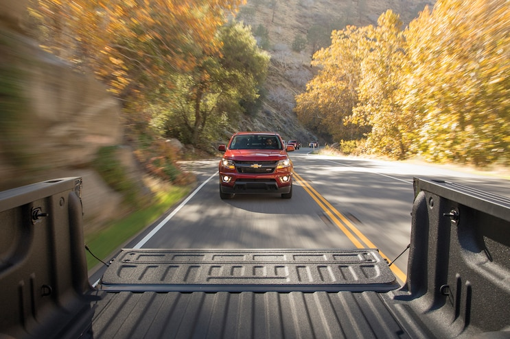 19 2016 Chevrolet Colorado From Bed