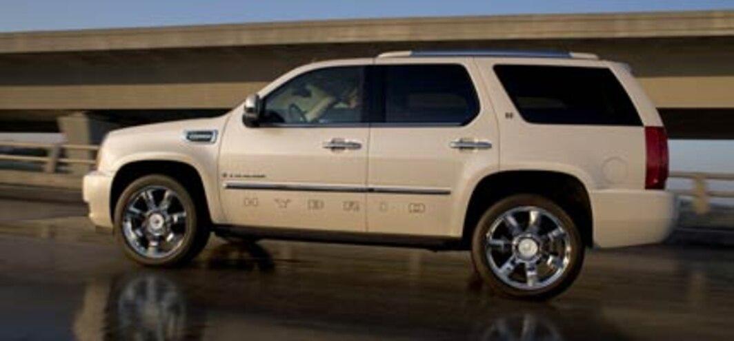 Cadillac Escalade Adds FlexFuel Capability for 2009 - Auto