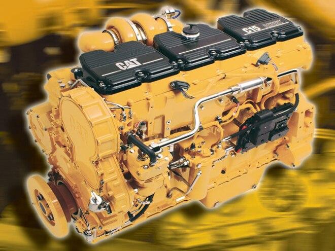 Caterpillar C15 - Caterpillar ACERT Diesel Engine - Diesel