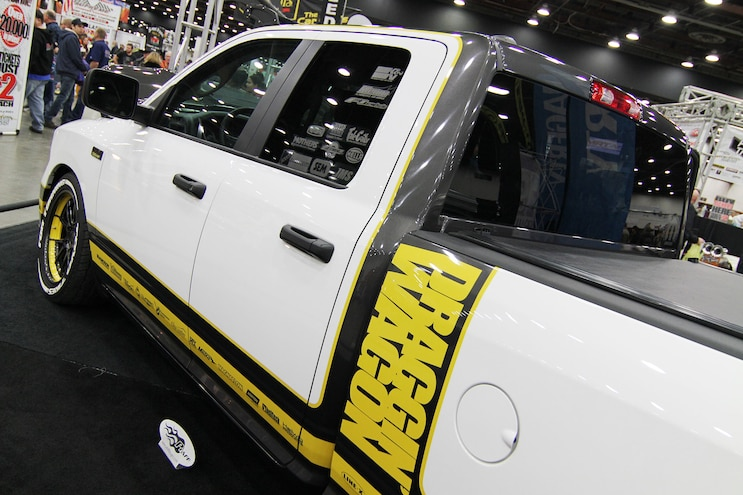 010 Detroit Autorama Murray Pfaff 2015 Ram 1500 Draggin Wagon