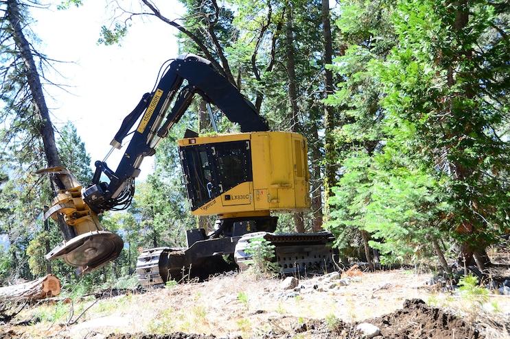 042 Tigercat LX830 Tree Feller
