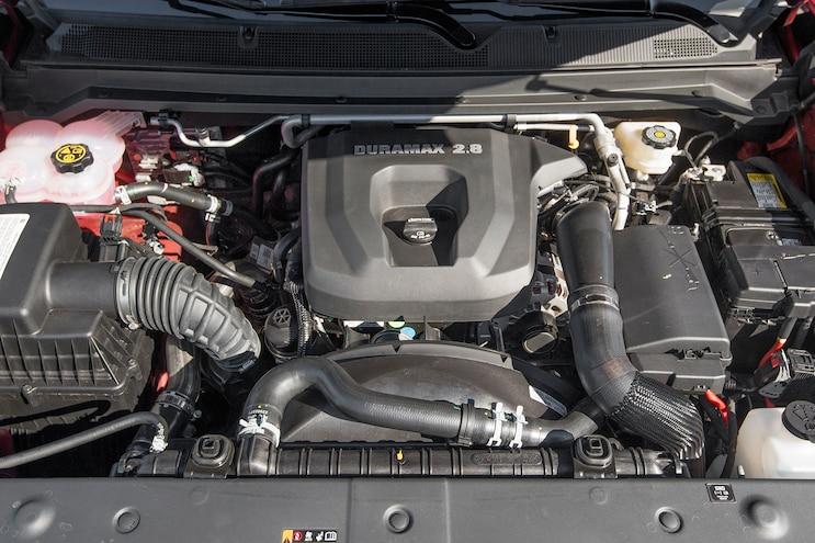 63 2016 GMC Canyon Engine