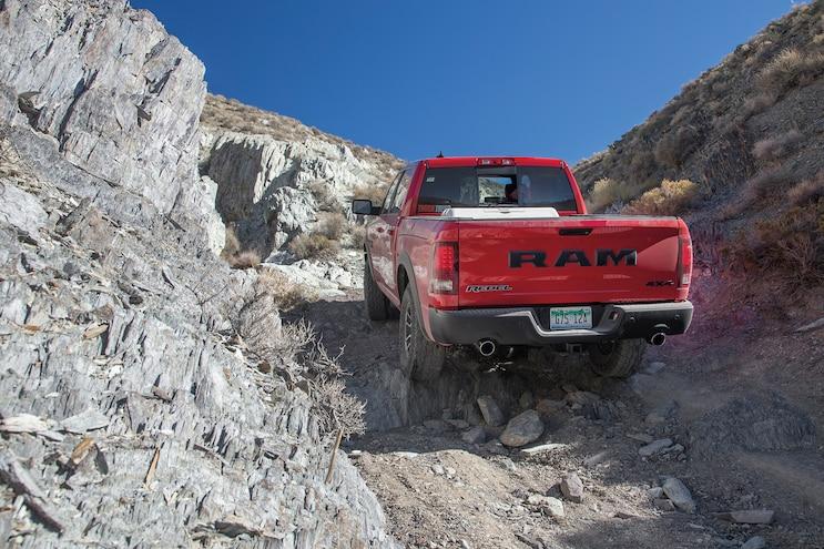 35 2016 Ram 1500 Rebel On Trail