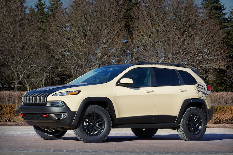 Jeep Cherokee Canyon Trail Concept Front Three Quarter