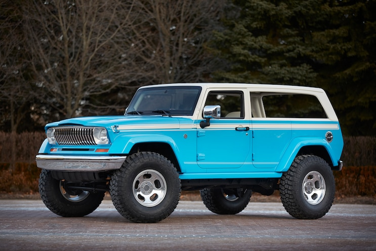 Jeep Unveils Concepts for Moab Easter Jeep Safari '15