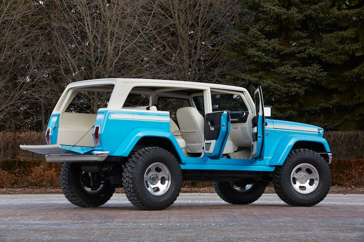 Jeep Chief Concept Rear Three Quarter 02