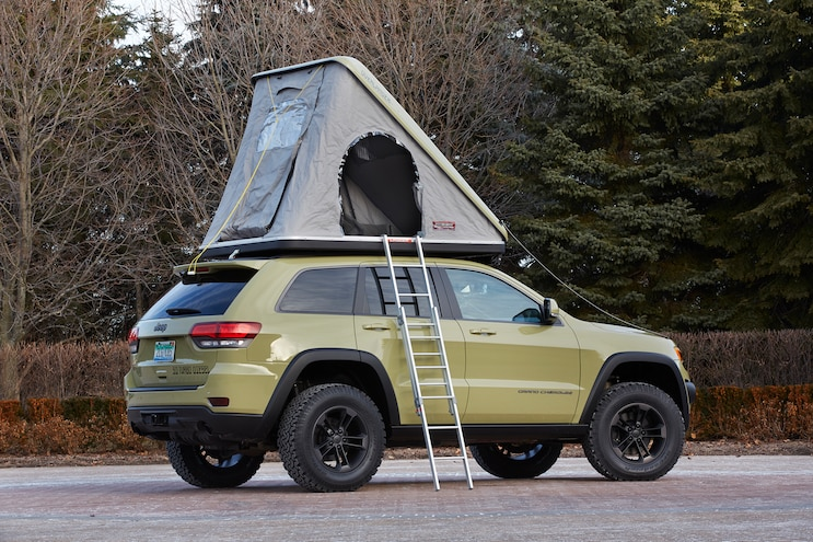 Jeep Grand Cherokee Overlander Concept Rear Three Quarter