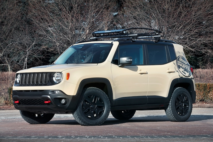 Jeep Renegade Desert Hawk Concept Front Three Quarter